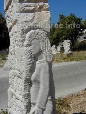 Skulptura samoukog bračkog kipara Franje Antonijevića