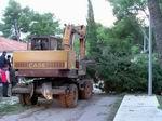 Čišćenje ceste u Mircima