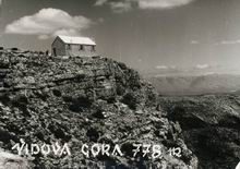 Nekadašnja planinarska kuća na Vidovoj gori