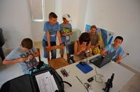 Radionica kreativne fotografije udruge Crno Bili Svit u Stonu 2011