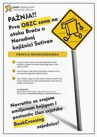Prva BookCrossing Zona na otoku Braču u Narodnoj knjižnici Sutivan